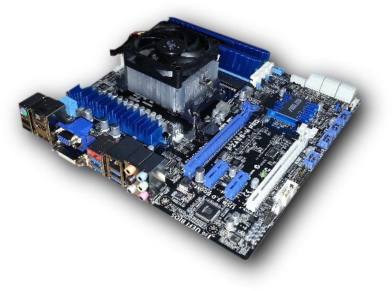 Asus F2A85-M Pro motherboard production
