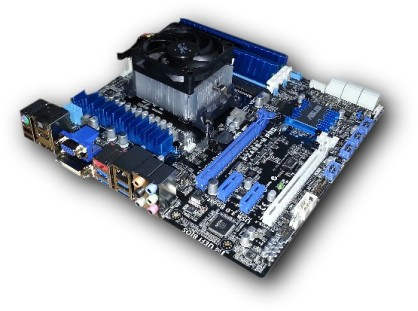 Asus F2A85-M Pro motherboard production 418x311